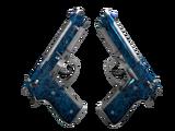 Dual Berettas | Cobalt Quartz (Field-Tested)