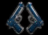 Dual Berettas   Синий кварц, После полевых испытаний, 13.44$