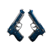 Dual Berettas | Cobalt Quartz <br>(Field-Tested)