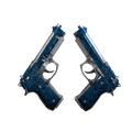 Dual Berettas   Cobalt Quartz <br>(Field-Tested)