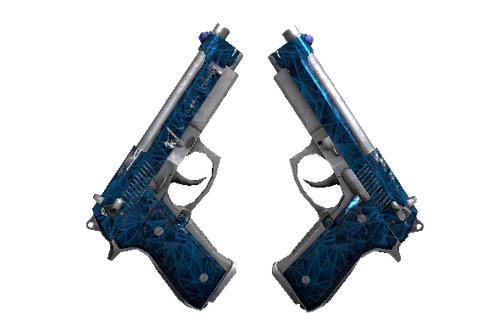 Souvenir Dual Berettas | Cobalt Quartz (Field-Tested) Prices