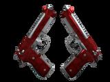 Weapon CSGO - Dual Berettas Hemoglobin