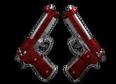 Dual Berettas   Гемоглобин, Немного поношенное, 63.37$
