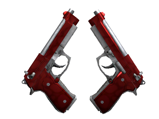 CS:GO Weapon 2 Dual Berettas Hemoglobin
