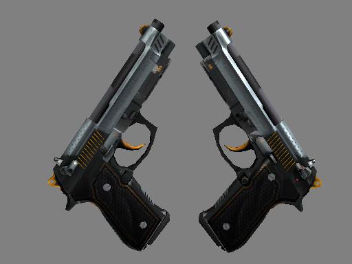 Скин Dual Berettas | Духовики (После полевых испытаний)