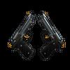 StatTrak™ Dual Berettas | Ventilators <br>(Well-Worn)