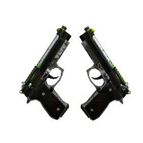 Dual Berettas | Cobra Strike (Battle-Scarred)