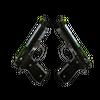 Dual Berettas | Cobra Strike <br>(Battle-Scarred)
