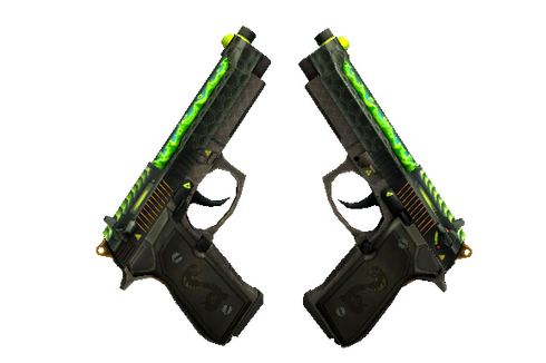 Dual Berettas | Cobra Strike (Minimal Wear) Prices