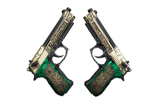 StatTrak™ Dual Berettas | Royal Consorts (Minimal Wear) Prices
