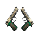 StatTrak™ Dual Berettas | Royal Consorts <br>(Field-Tested)