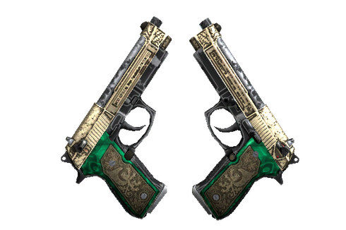 StatTrak™ Dual Berettas | Royal Consorts (Well-Worn) Prices