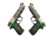 Dual Berettas   Королевская чета, Поношенное, 18.11$
