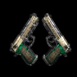 Dual Berettas | Royal Consorts (Well-Worn)