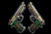 Dual Berettas | Royal Consorts (Battle-Scarred)