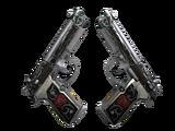 StatTrak™ Dual Berettas | Balance (Factory New)