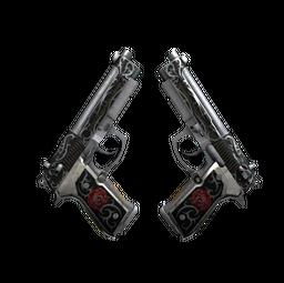 StatTrak™ Dual Berettas | Balance (Minimal Wear)
