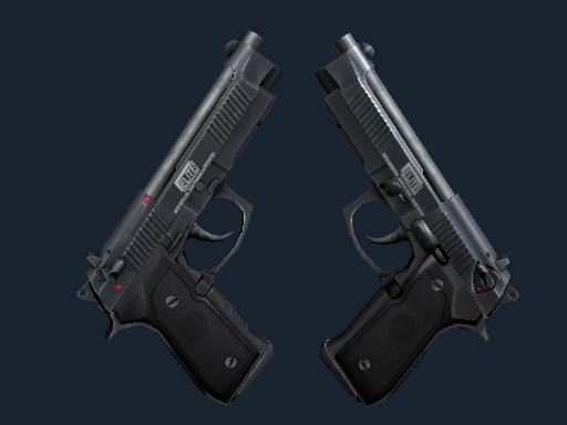 Скин StatTrak™ Dual Berettas | Элита 1.6 (Немного поношенное)
