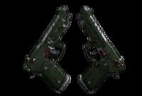 Dual Berettas | Briar (Field-Tested)