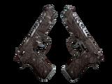 Dual Berettas | Pyre (Well-Worn)