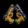 StatTrak™ Dual Berettas | Marina <br>(Well-Worn)