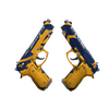 Dual Berettas | Marina <br>(Well-Worn)