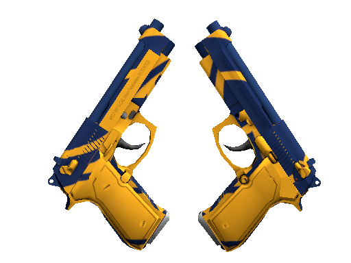 Dual Berettas | Marina Factory New