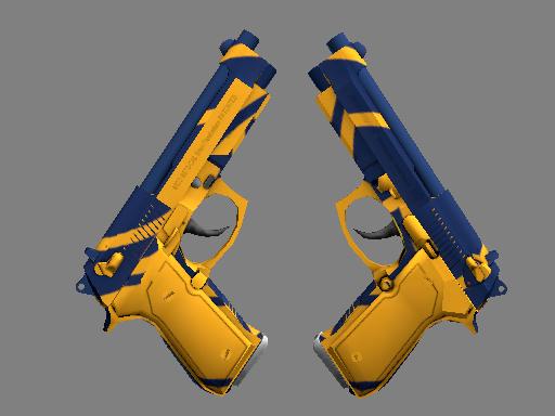 StatTrak™ Dual Berettas | Marina