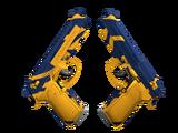 StatTrak™ Dual Berettas | Marina (Minimal Wear)
