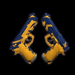 StatTrak™ Dual Berettas | Marina (Factory New)
