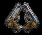 Dual Berettas   Marina (Battle-Scarred)