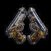 Dual Berettas | Marina <br>(Battle-Scarred)