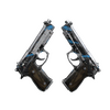StatTrak™ Dual Berettas | Shred <br>(Battle-Scarred)