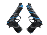 StatTrak™ Dual Berettas | Shred (Factory New)