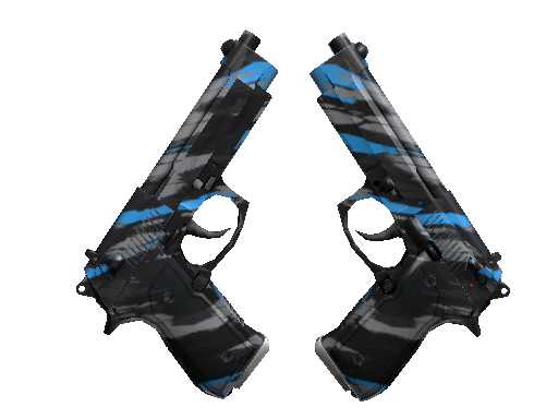 StatTrak™ Dual Berettas | Shred (Factory New)