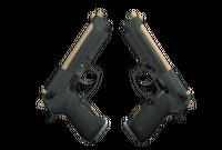Dual Berettas | Contractor (Factory New)
