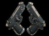 Dual Berettas   Contractor (Well-Worn)