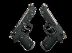 Dual Berettas | Наемник (После полевых испытаний)