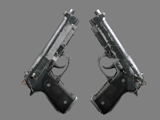 Скин Dual Berettas | Наемник (Закаленное в боях)