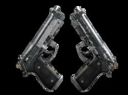 Dual Berettas | Наемник (Закаленное в боях)