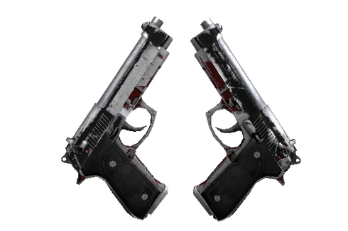 StatTrak™ Dual Berettas | Panther (Battle-Scarred) Prices