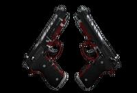 Dual Berettas | Panther (Well-Worn)