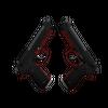 StatTrak™ Dual Berettas | Panther <br>(Minimal Wear)