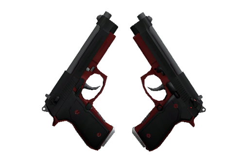 StatTrak™ Dual Berettas | Panther (Minimal Wear) Prices