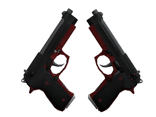 Dual Berettas | Panther Factory New