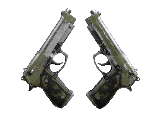 Скин Сувенирный Dual Berettas | Колония (Закаленное в боях)