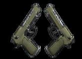 Dual Berettas   Колония, После полевых испытаний, 0.66$