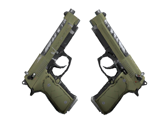 Скин Сувенирный Dual Berettas | Колония (После полевых испытаний)