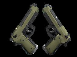 Dual Berettas | Колония (Немного поношенное)