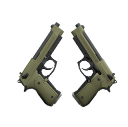 Souvenir Dual Berettas | Colony (Factory New)